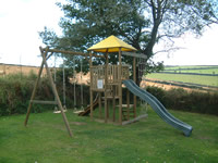 York Wooden Climbing Frame Play Action Tramps UK