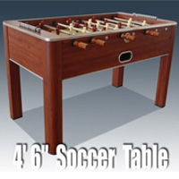 "BCE / Riley - 4' 6"" Retro Raider Soccer Table (F18AE)"