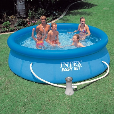 About 39 above ground intex swimming pools 39 above ground for Above ground swimming pools uk