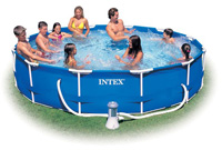 Intex Swimming Pool Frame UK Pools Cover Above Ground Framed