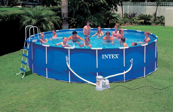 Intex Swimming Pool Uk Frame Pools Cover Above Ground Agp