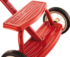 "Radio Flyer classic red trike 12"" Ride on toys pedal Pedal Carts Karts go-karts go-kart"