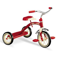 Radio Flyer classic red trike 10