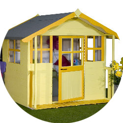 Daisy Den Playhouses Playhouse Play House Children Garden Honeypot Cottage Waltons UK
