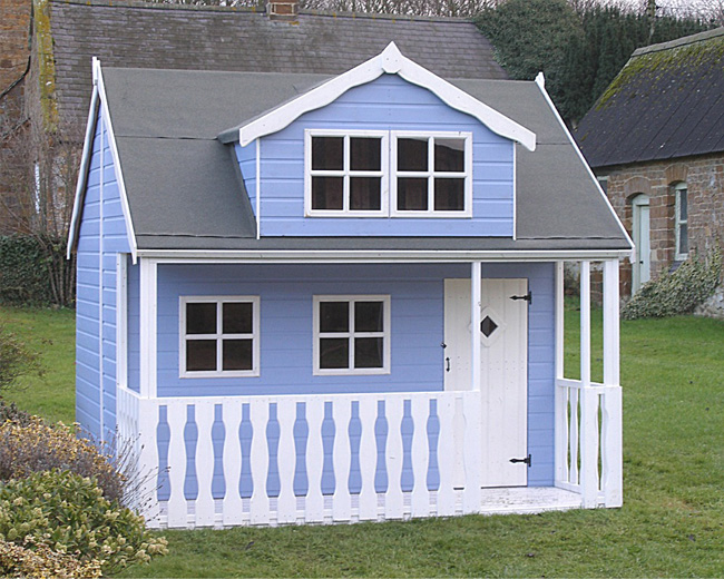 Cottage Playhouse Tree Top Playhouses Play House Children