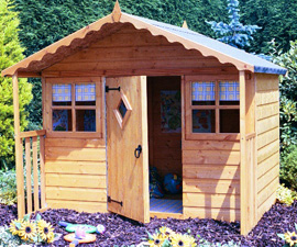 Shire cubby Playhouse Playhouses Play House Children Garden Cottage UK